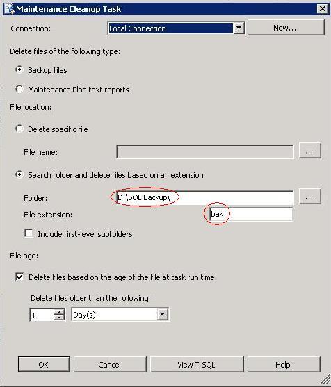 SQL Server Maint Task